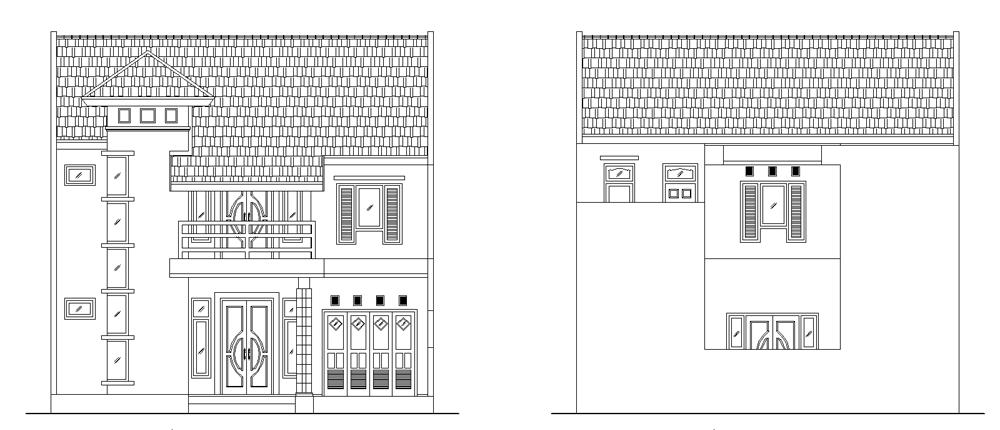Ragam inspirasi Desain Rumah Minimalis Ukuran 6 X 12 M 2015 yg cantik