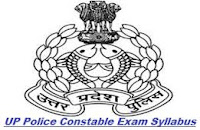 UP Police Syllabus 2013