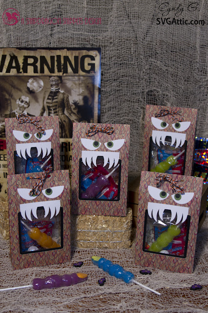 Monster treat bags