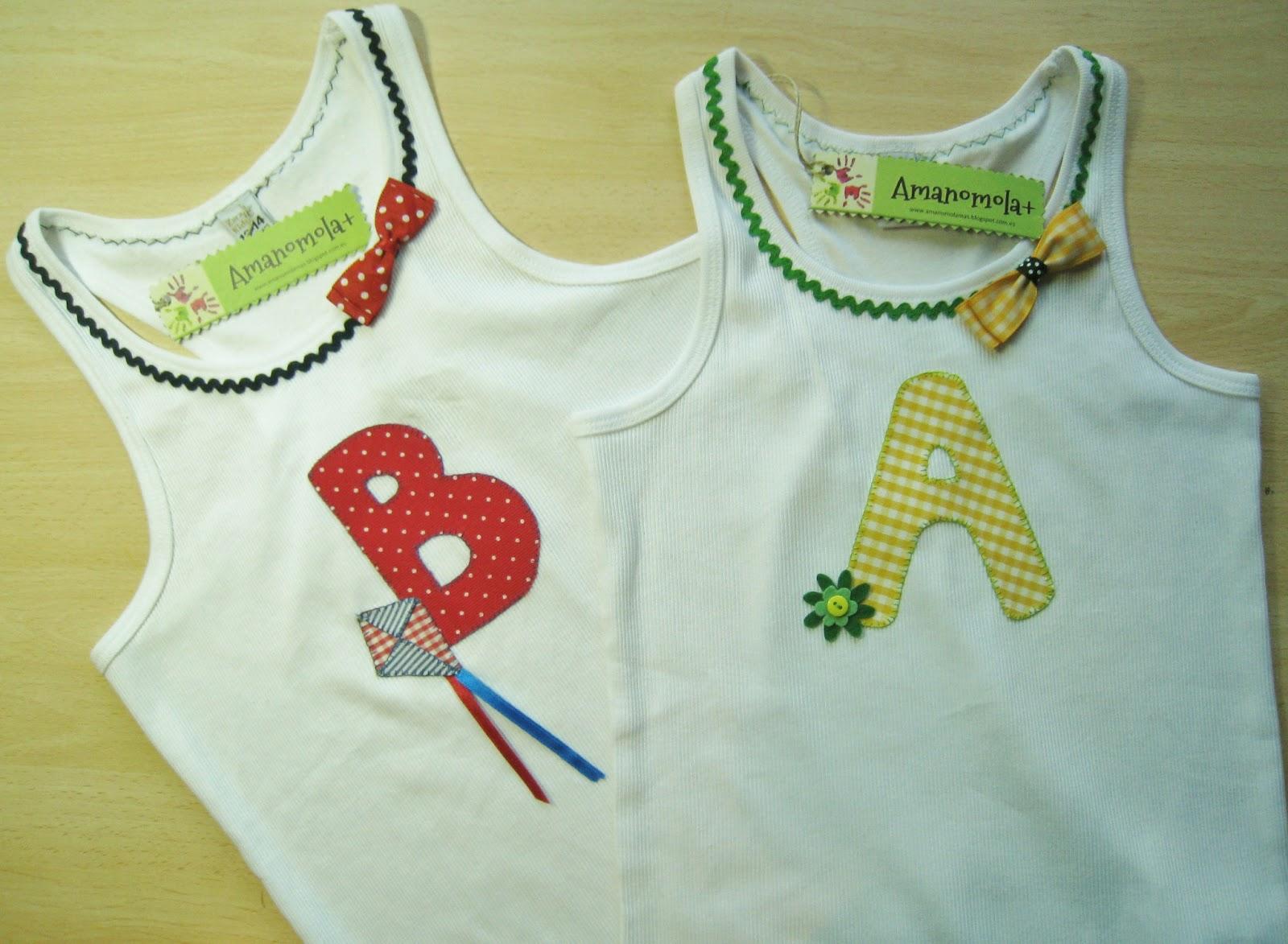 Amanomola letras y lazos ii for Aplicaciones decoradas
