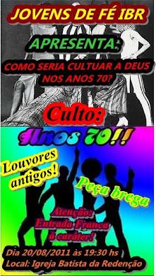 CULTO ANOS 70