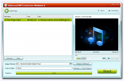 Advanced MP3 Converter , Audio converter, converters , mp3 converter , windows software , freewares, android apps,