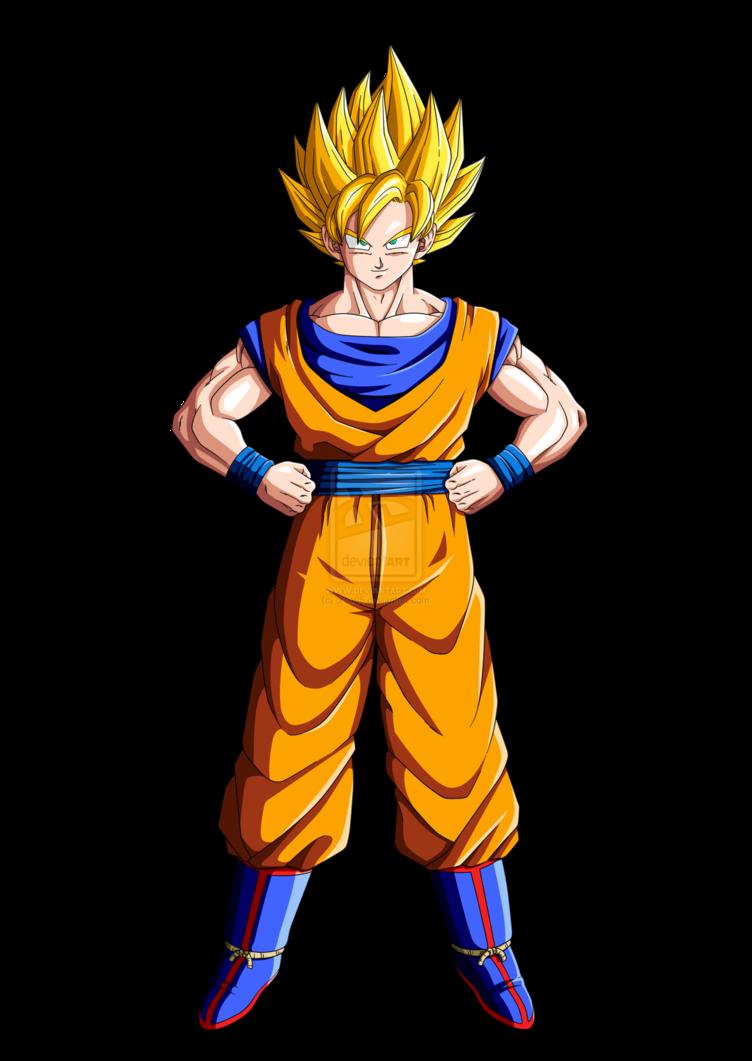 Goku y gohan - Sangoku super sayen 2 ...