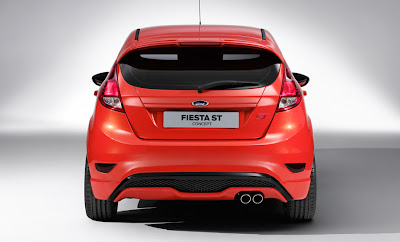 Ford Fiesta ST 2013 Montreal derriere complet
