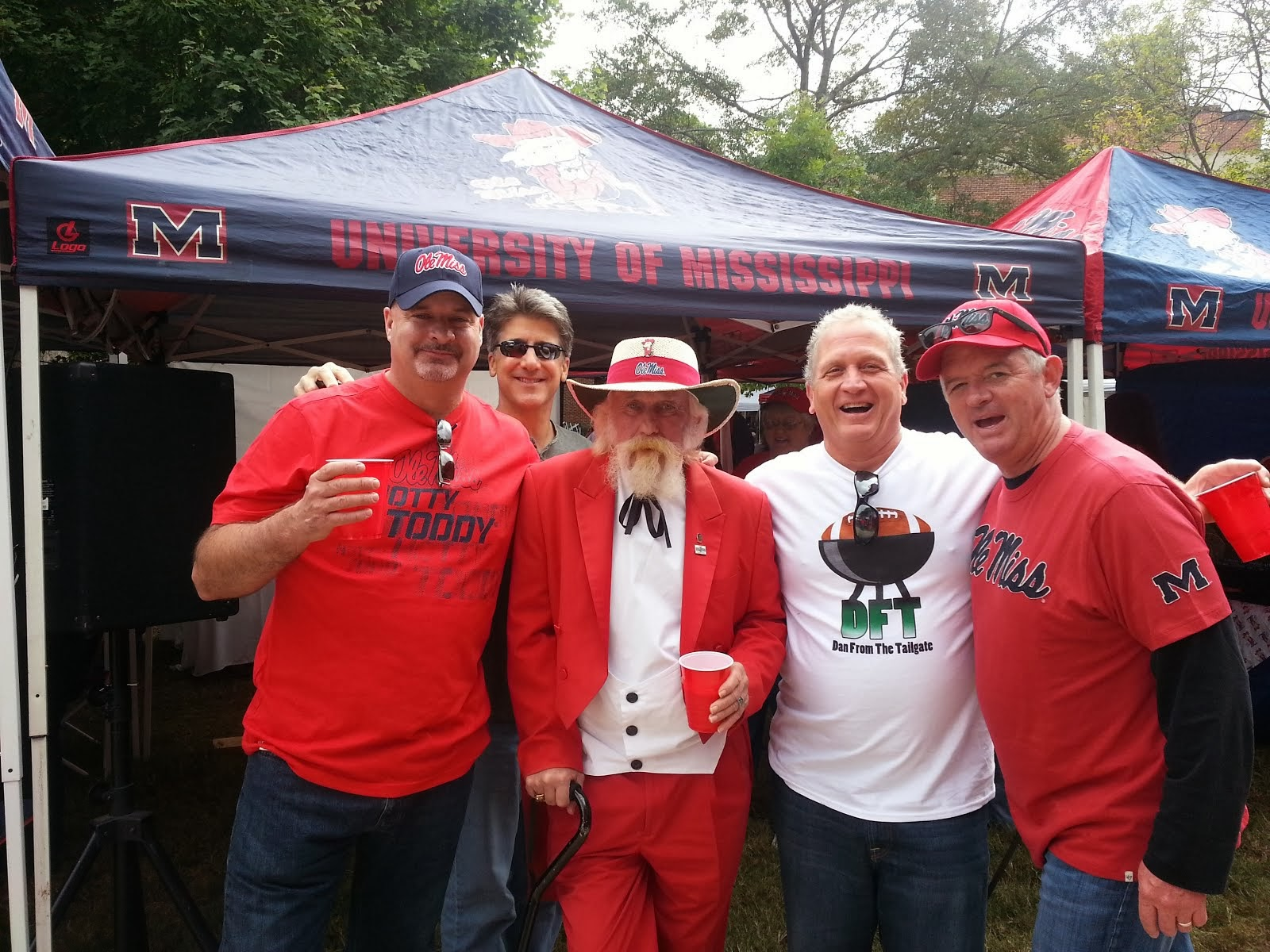 Colonel Reb and the boys