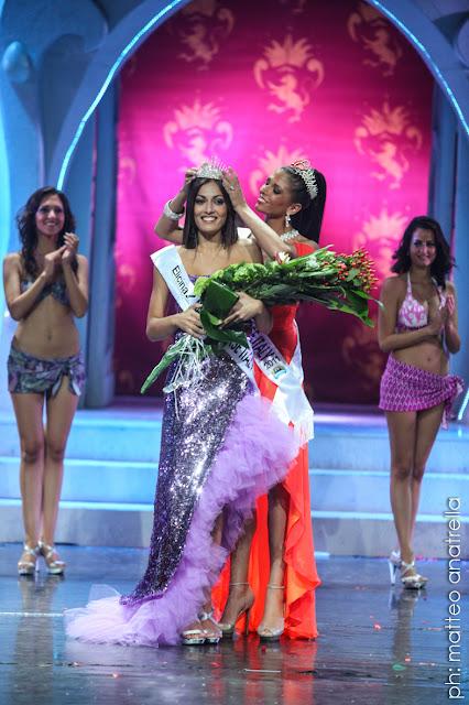 Miss Universe Italia 2012 winner Grazia Maria Pinto