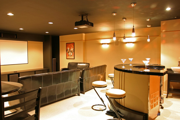 Basement Decorating Ideas Pictures