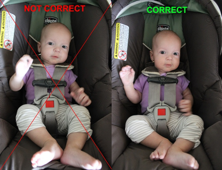 Ive Seen Many Pictures On My Facebook Timeline Of Parents Just Clicking The Chest Clip Onto Their Child Without Ensuring Proper Positioning