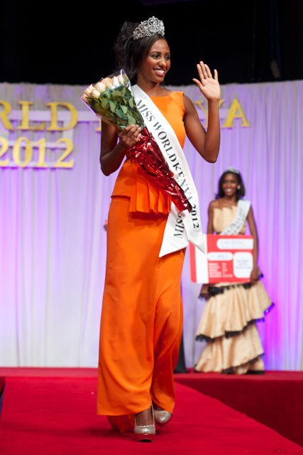 Miss World Kenya 2012 winner Shamim Nabil