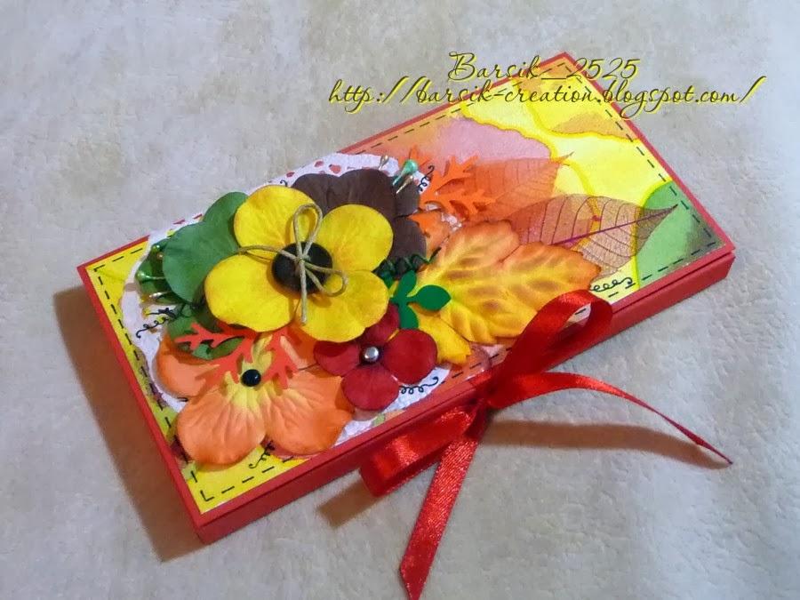 шоколадница, день учителя, подарок ручной работы