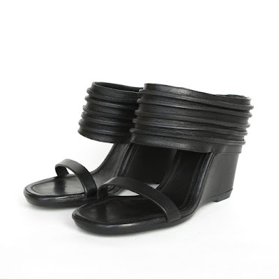 rick owens high heel wedge ruhlmann sabot
