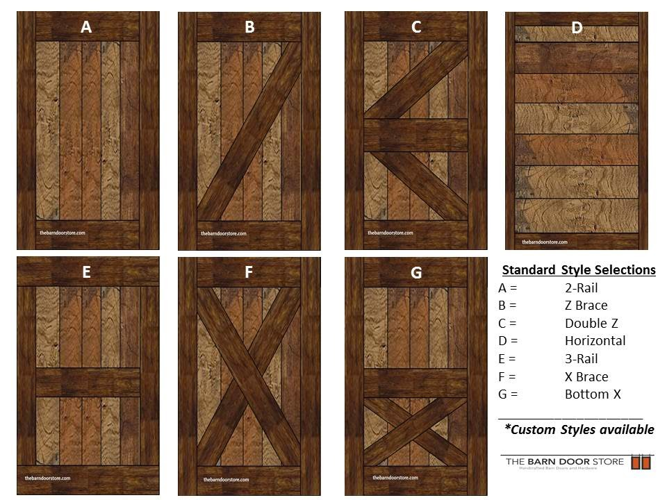 Arizona barn doors october 2014 for Different types of doors for houses