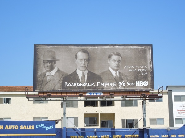 Boardwalk Empire season 4 HBO billboard