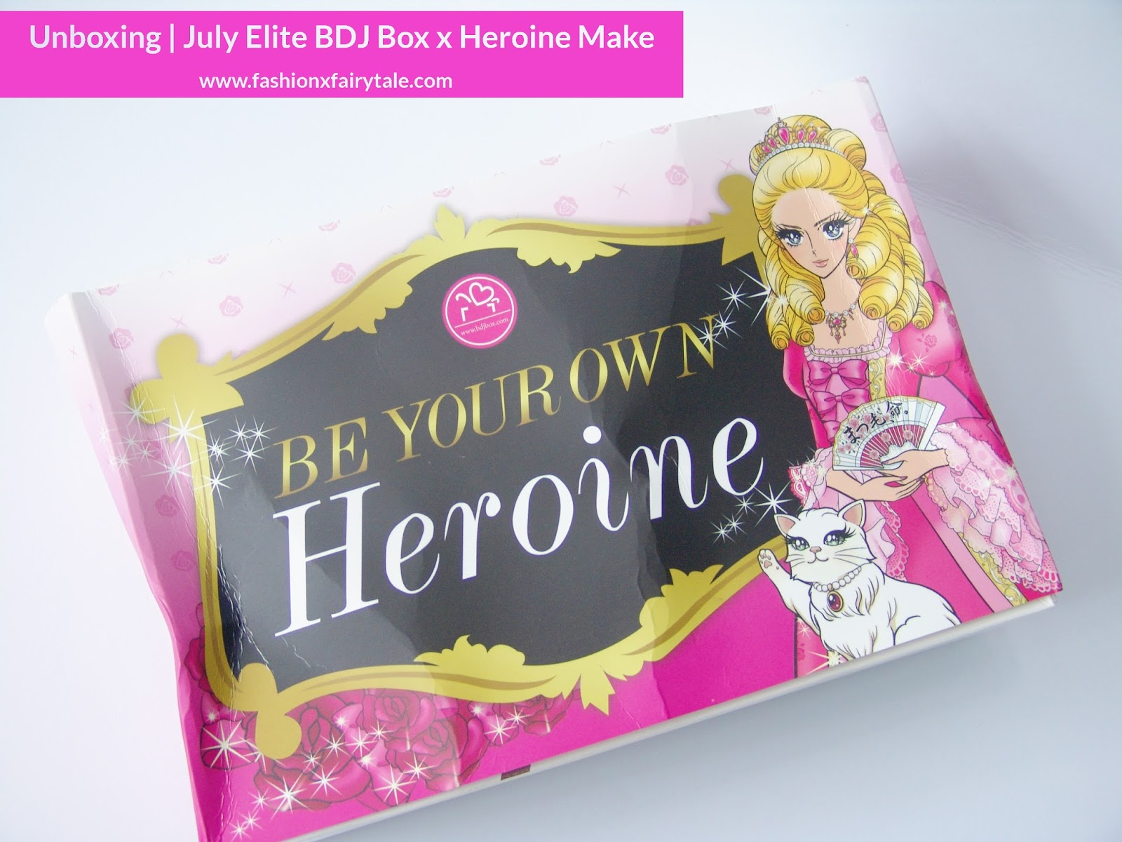 Unboxing | July Elite BDJ Box x Herione Make