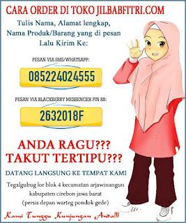 Cara belanja jilbab online di toko jilbabfitri.com