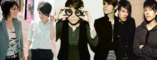 Most Stylish Lesbians, Tegan & Sara, Style Geek, Lesbian Fashion