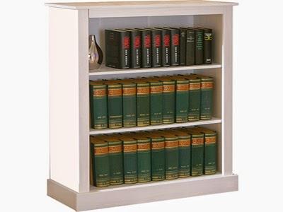 estante de livros para quartos pequenos