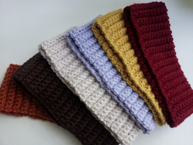 Raising Mimi  PoochieBaby  Ribbed Crochet Headband  Free Pattern f17014dc12a