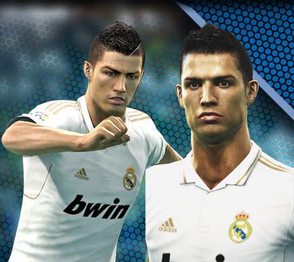 Cristiano Ronaldo di PES 2013