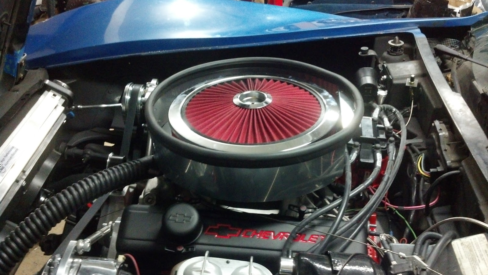 Induction Air Cleaner Hood : Project c update the air cleaner post