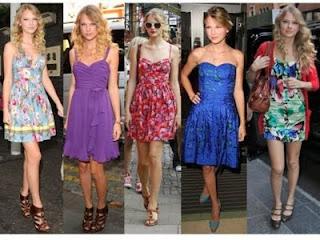 Taylor Swift - Estilo Menininha