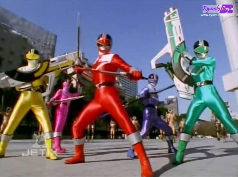 List of Power Rangers Time Force episodes - Wikipedia