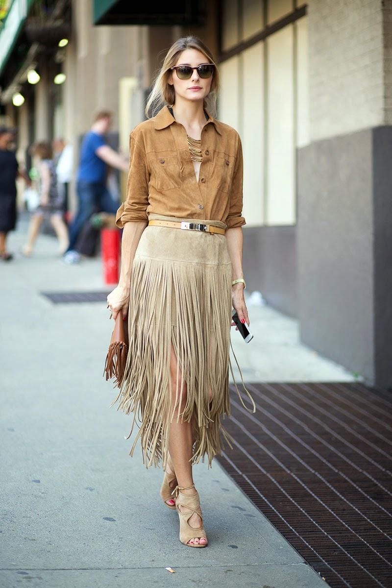 The Olivia Palermo Lookbook New York Fashion Week Spring 2015 Olivia Palermo At Michael Kors