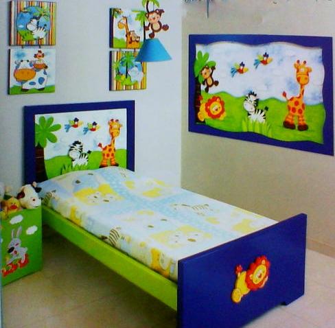 Dormitorios y casa dormitorio fiesta en la selva for Dormitorio animado