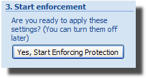 Start protection document