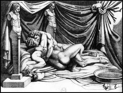 aretino parigi incisioni erotiche agostino carracci esemplare