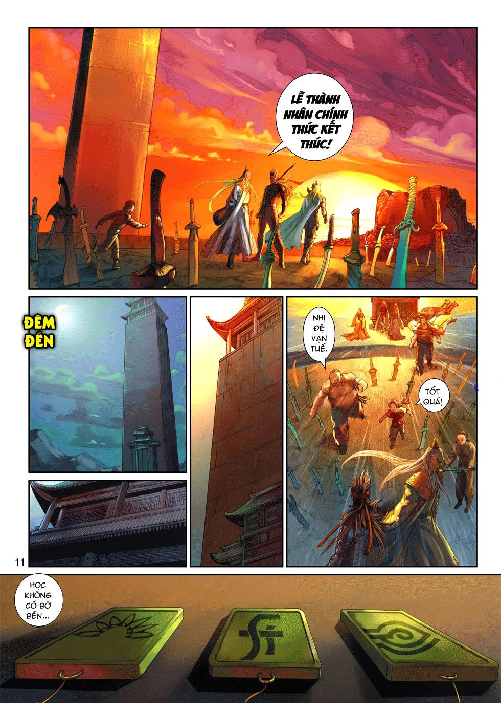 Thần Binh Tiền Truyện 4 - Huyền Thiên Tà Đế chap 9 - Trang 11