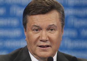 Об этом президент украины виктор янукович заявил во время выступления на торжественном собрании, посвященном