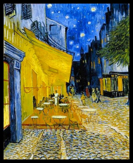 vincent van gogh the night cafe essay Suggested essay topics and study questions for 's vincent van gogh perfect for students who have to write vincent van gogh essays the night cafe , 1888, he.