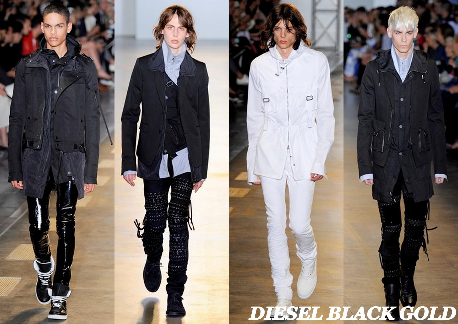 Diesel Black Gold , ss16 , milan fashion week