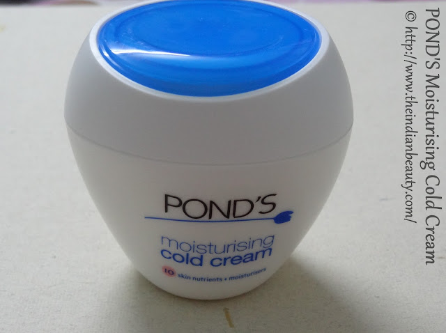 ponds cold cream tub