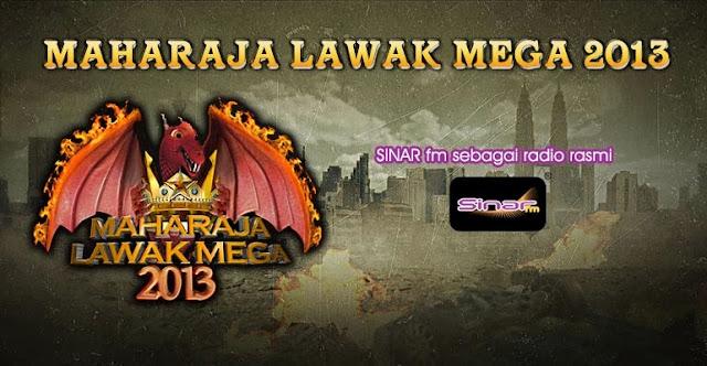 LIVE MAHARAJALAWAK MEGA 2013 ASTRO 15 NOV, LANGSUNG MLM 2013 DI ASTRO MUSTIKA, PROGRAM MAHARAJA LAWAK MEGA 2013