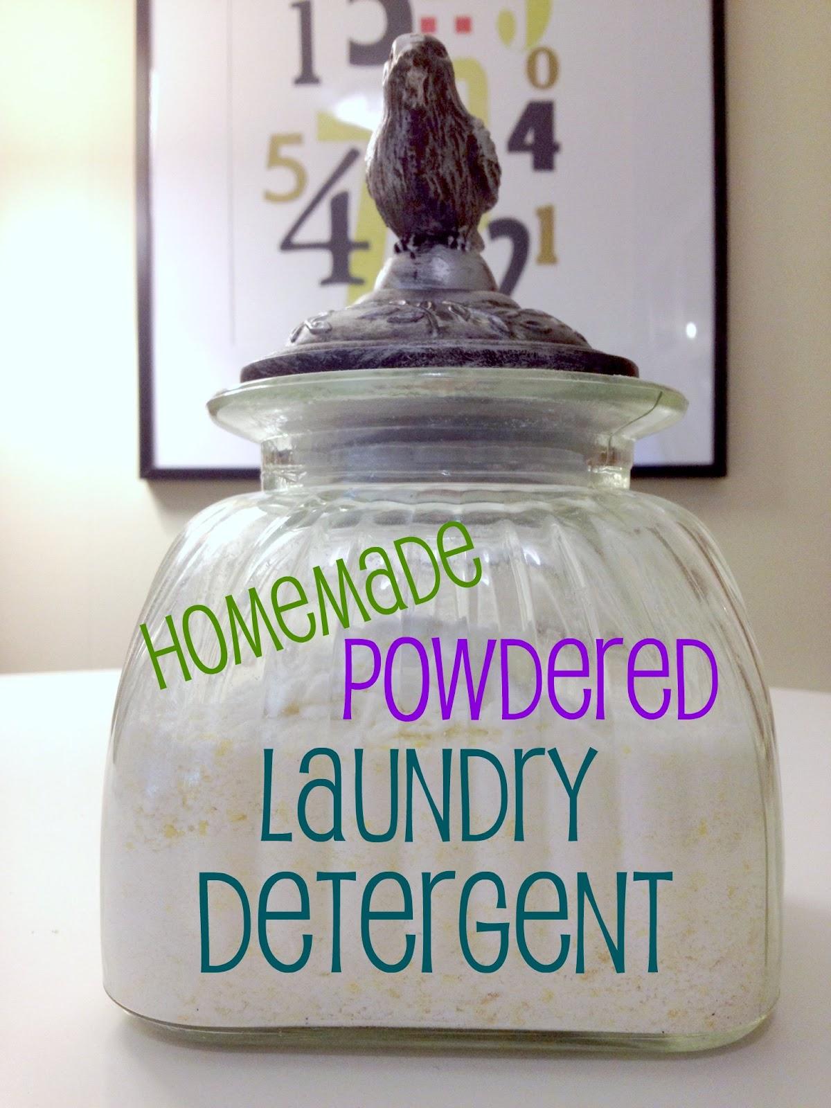 Homemade powdered laundry detergent car interior design
