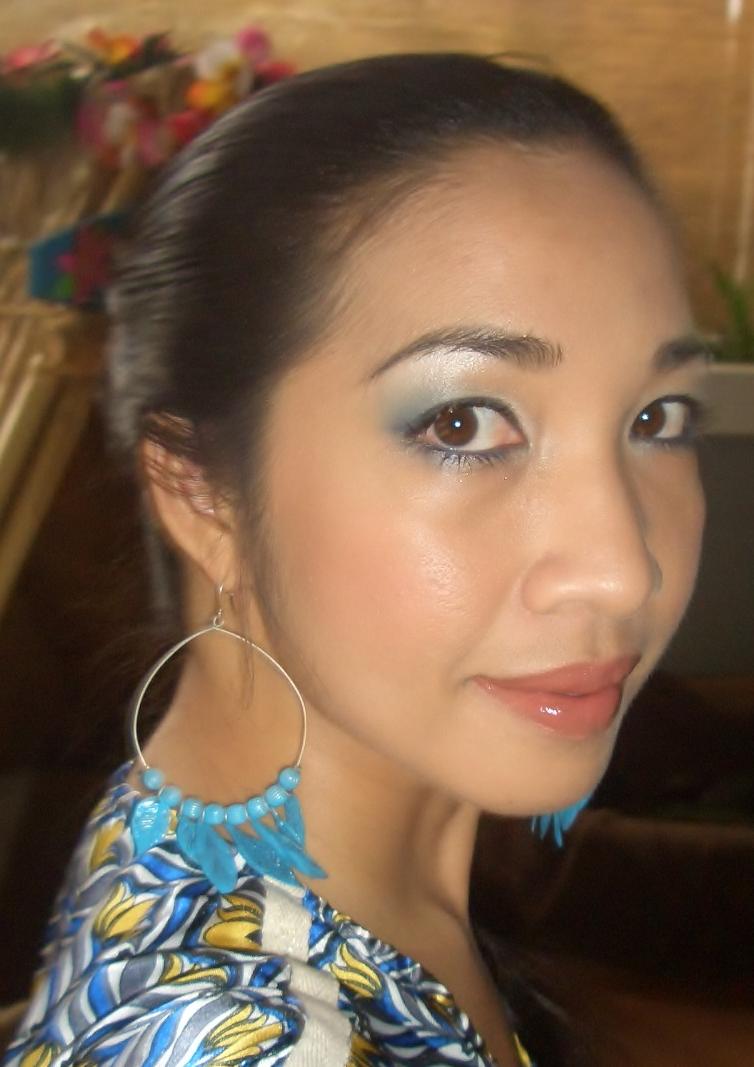 Fa-BLUE-lous! Eye Makeup