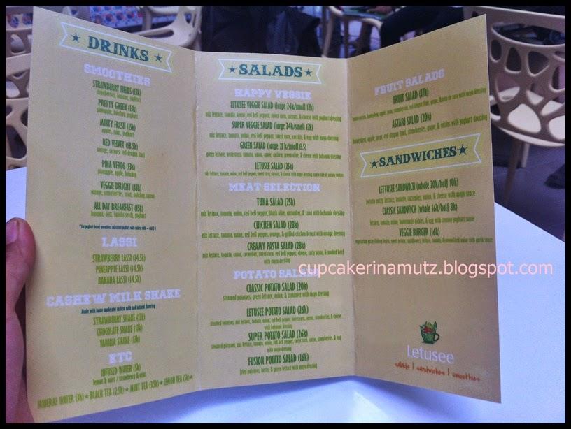 Kuliner jogja letusee salad rina chabbymutz for Z kitchen jogja menu