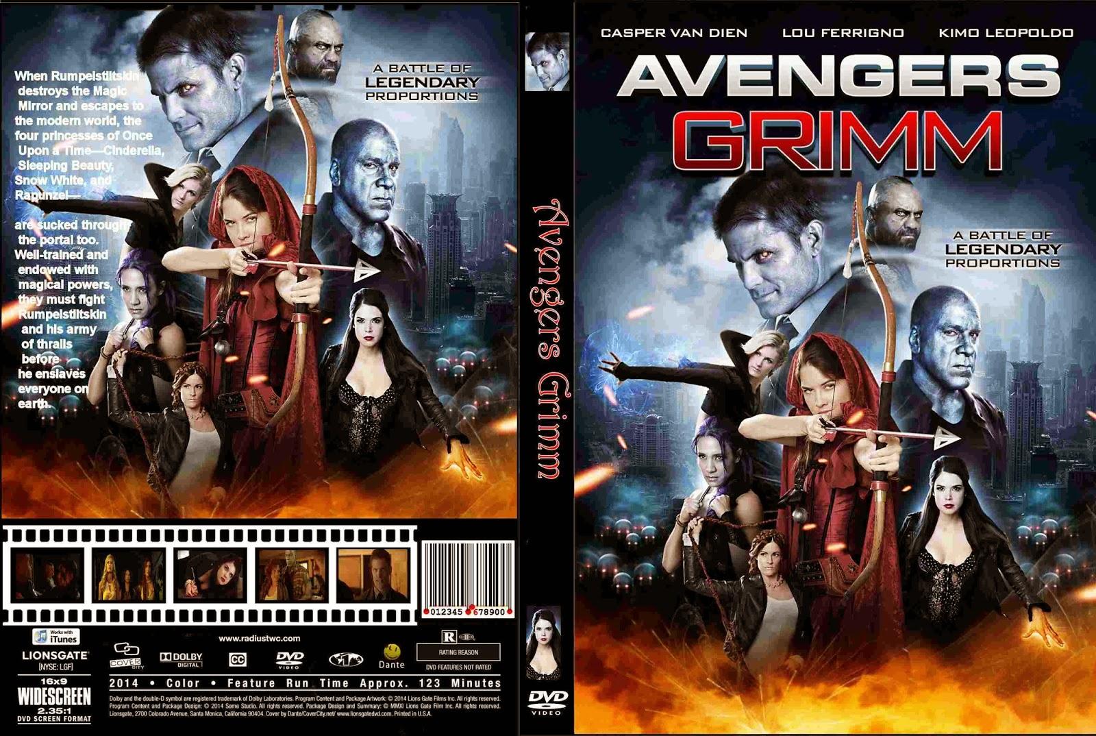 Baixar Avengers Grimm BDRip XviD Dual Áudio Avengers 2BGrimm 2B 2015  2B  2BCover 2BDVD 2BMovie