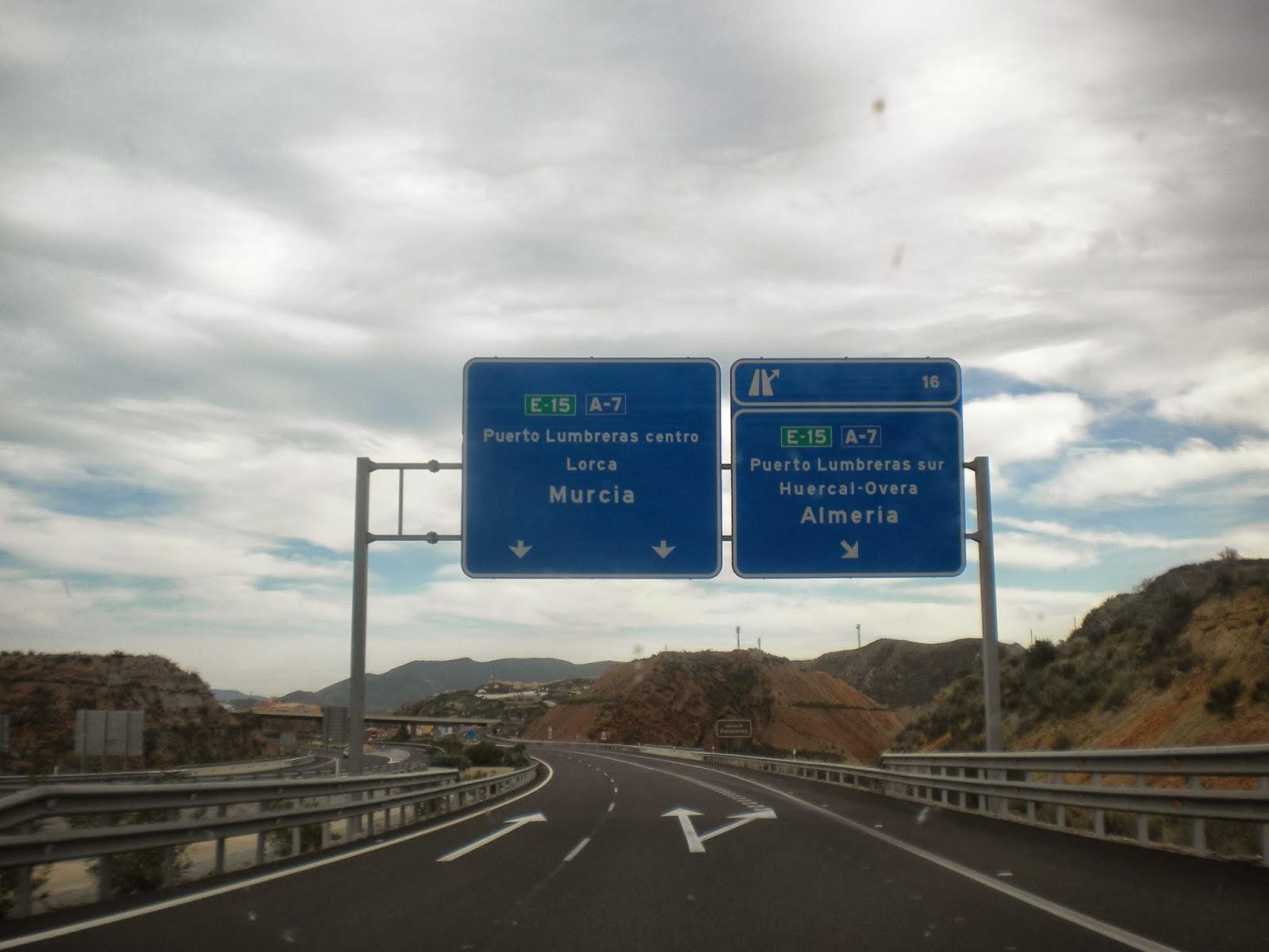 murcia carreteras: