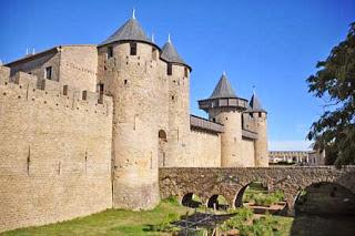 Cité von Carcassonne - Château comtal