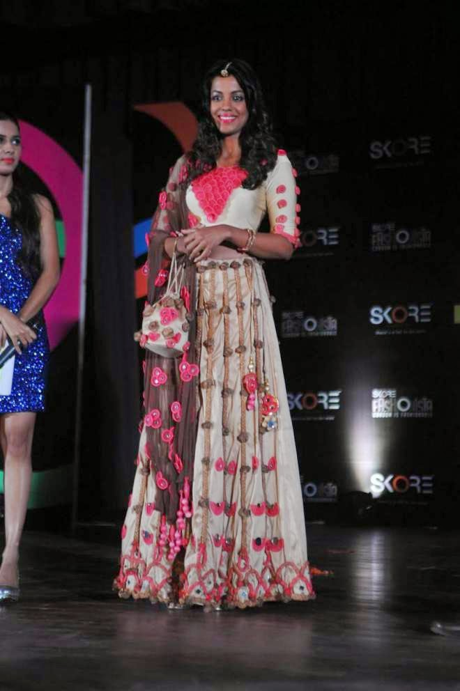 Mugdha Godse Ramp Walk Photos