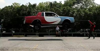 車の縄跳び