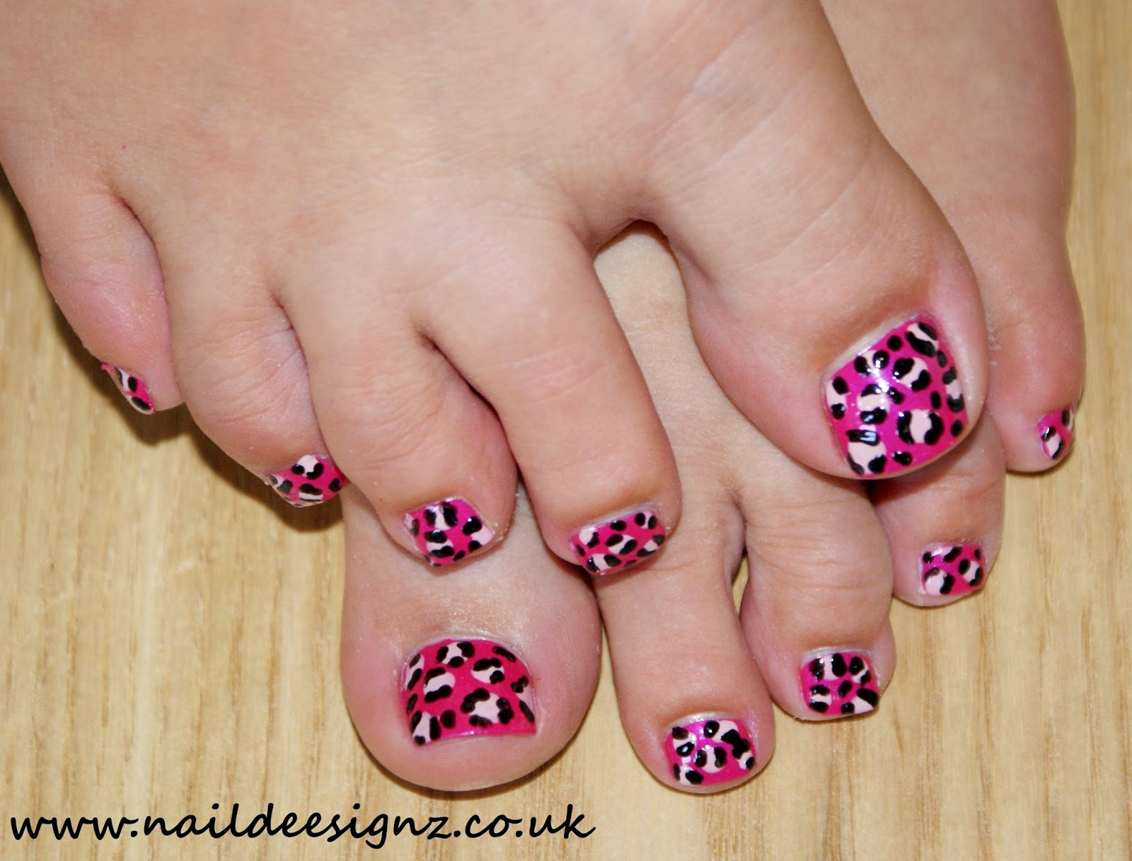 Christines Nail Designs Easy Nail Designs For Short Nails Pink