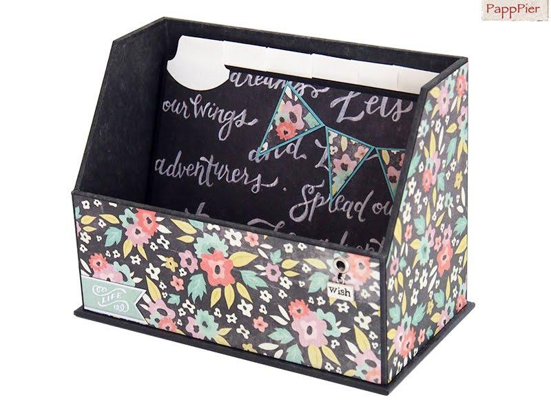 Karteikarten-Box