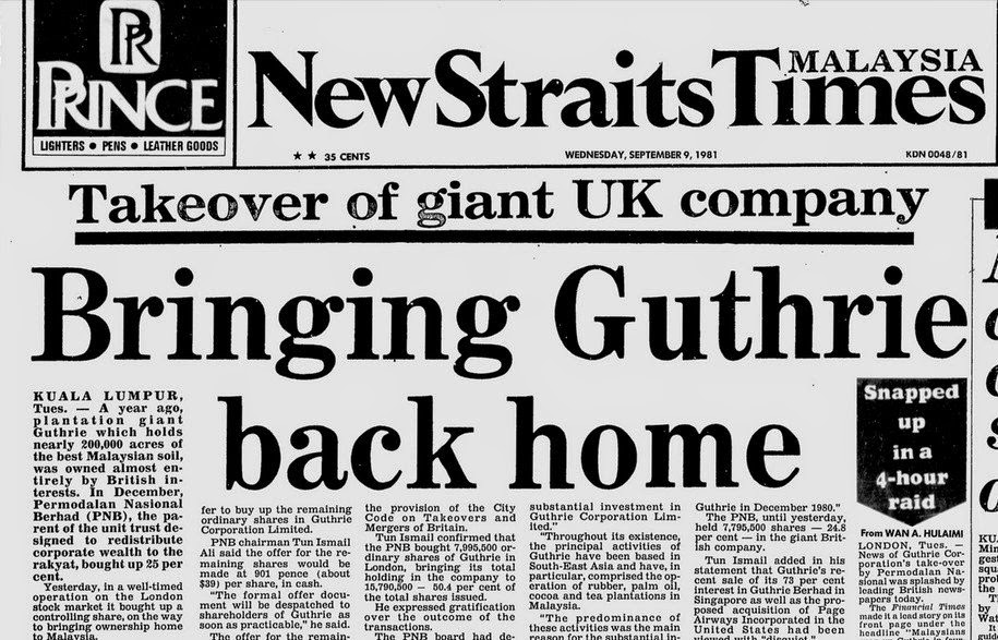 Serang Hendap Kuala Lumpur Ke Atas Kota London 1981