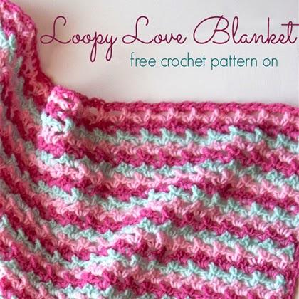 Loopy Love Blanket Free Crochet Pattern