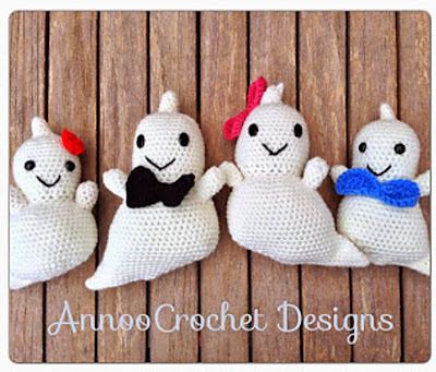 free crochet amigurumi ghost pattern