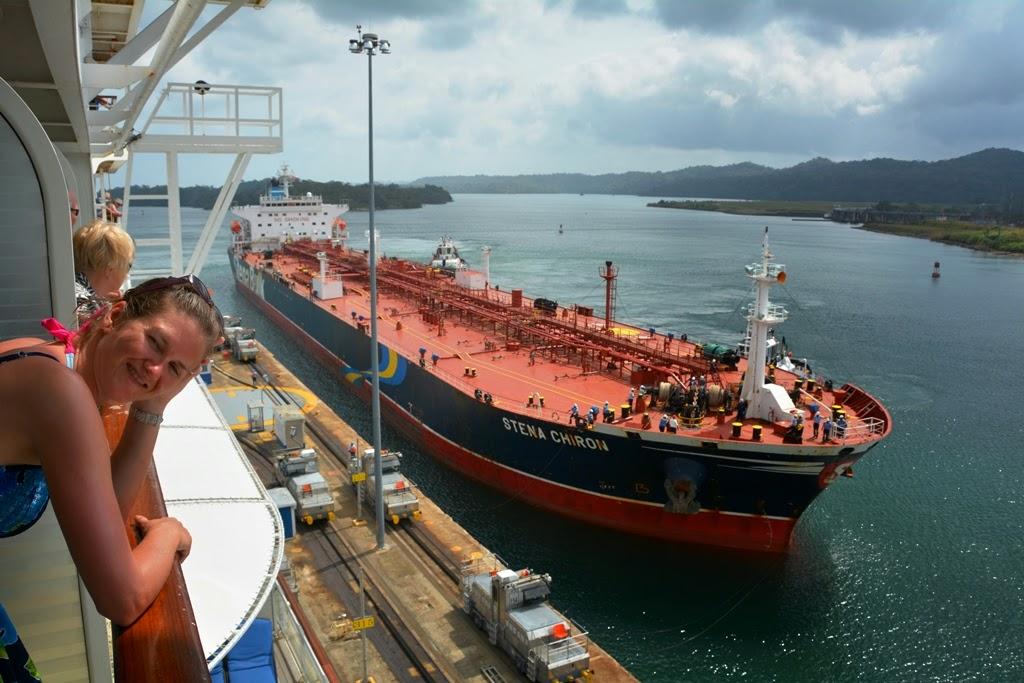Gatun Locks Panama Canal Stena Chiron